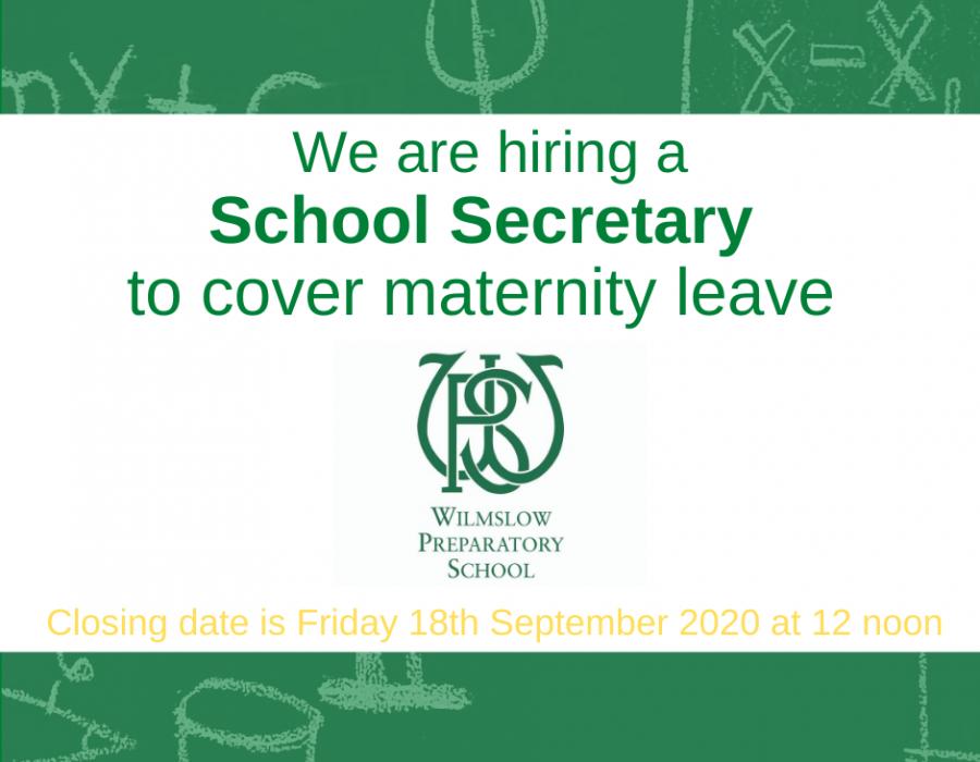 Hiring school Secretary job information