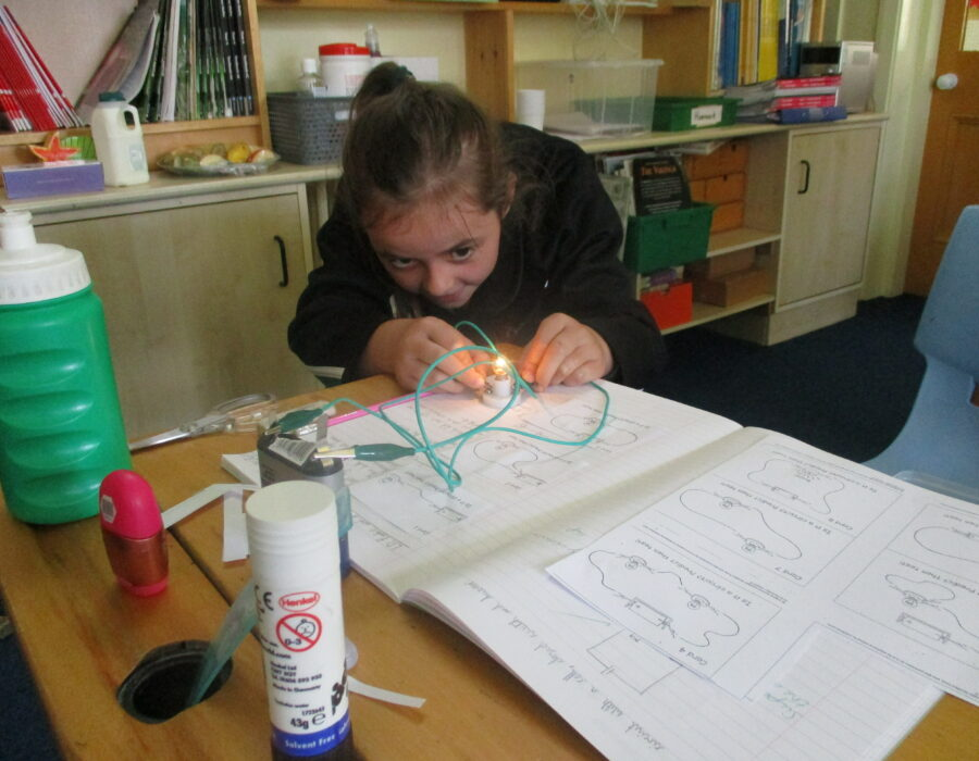 Prep 4 has also been busy making their own electrical circuits